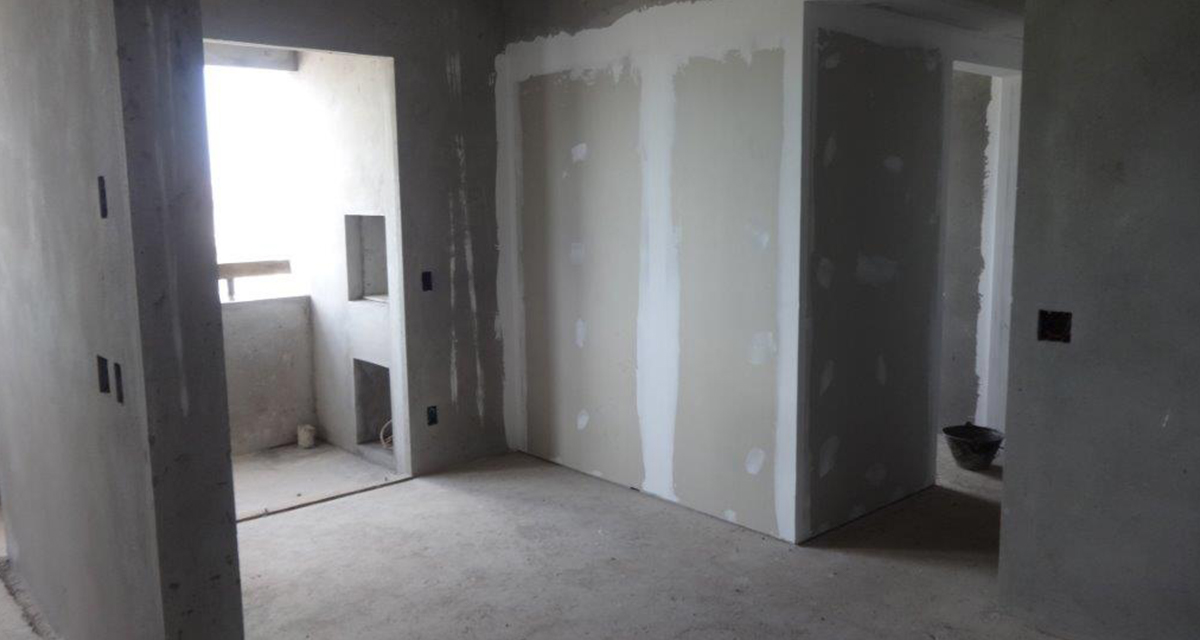 Parede Drywall no 2º Pav. - Abril/2018