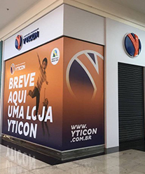 Yticon inaugura nova loja no Londrina Norte Shopping
